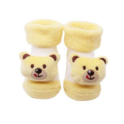 0-12M Cotton Newborn Baby Socks Autumn Baby Boy Girl  Floor Socks