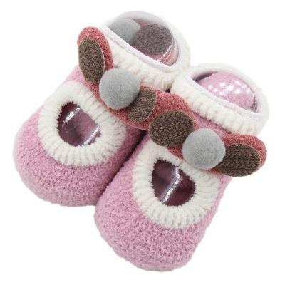 Baby Socks Clothing Cartoon Newborn Baby Girls Boys Anti-Slip Socks Slipper Shoes Boots kids clothes sports suit