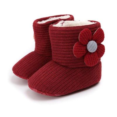 Newborn Toddler Warm Boots Winter First Walkers baby Girls Boys Shoes Soft Sole Fur Snow Prewalker Booties for 0-18M