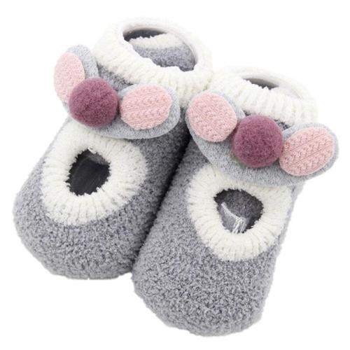 Cute Newborn Baby Socks Warm Cartoon Animal Baby Girl Boy Socks Infant Toddler Anti Slip Floor Socks Kids Socks