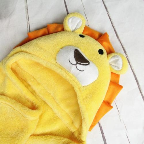 Newborn Hooded Towel Baby Bath Towel for Baby Blanket Kids Poncho Towel Hooded Newborn Stuff for Babies Swaddle Blanket