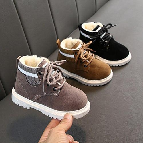Toddler Winter Snow Boots for Boys Shoes Warm Baby Snow Boots Shoes Cozy Plush Little Boys Girls Boots Size 21-30