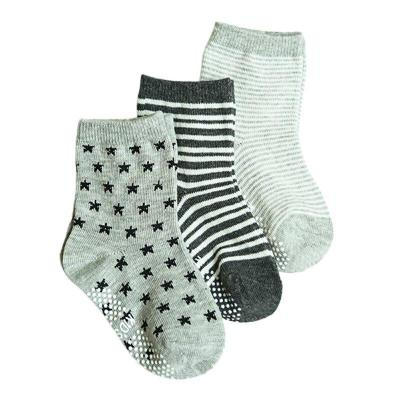 12 Pairs/Set Baby Socks Newborn Floor Socks Girl Boy Casual Short Socks Cotton