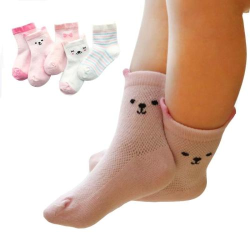 Newborn Boys Girls Toddler Anti-slip Socks 5 Pairs/Lot Baby Socks Cartoon Infant Socks Birthday Gifts For Baby