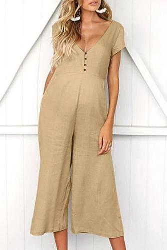 New Maternity Pants Summer Women Sleeveless Pregnancy Maternity Pants Solid Ladies Summer Jumpsuit