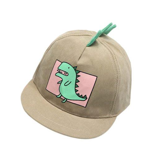 Baby Boy Hats Soft Cotton Dinosaur Sunhat Eaves Baseball Cap Sun Hat