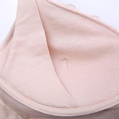 Women Maternity Feeding Nursing Breastfeeding Bras Seamless Lace Bra Cup 36-42 Cup B/C