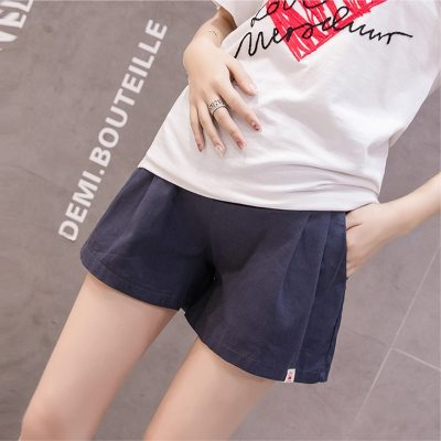 2020 Cotton Maternity Shorts Pregnancy Pants Leisure Cotton for Pregnant Women Clothing Elastic Waist Mother Wear Clothes Summer
