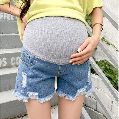 Hot Sale 2020 Summer New Arrival Maternity Fashion Short Jeans Denim Hot  Pants For Pregnant Women Pregnancy Summer Clothes