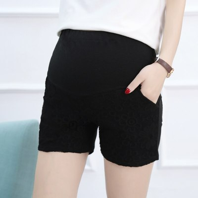 Maternity Pants Shorts Summer Thin Abdominal All-match High Elastic Pregnant Women Shorts
