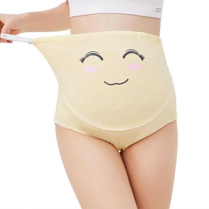 Pregnancy Maternity Panties Women Underwear For Pregnant  Knickers Cartoon Cute Underpants