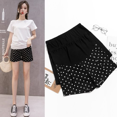 Casual Maternity Short Pants Pregnancy Shorts Pregnant Jeans Maternity Shorts Autumn Belly Denim Pants Loose Short Pants