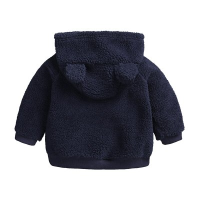 Newborn baby clothes Autumn Winter warm Hooded jacket&Coat for 3-18M toddler baby boy girls cartoon bear Outerwear