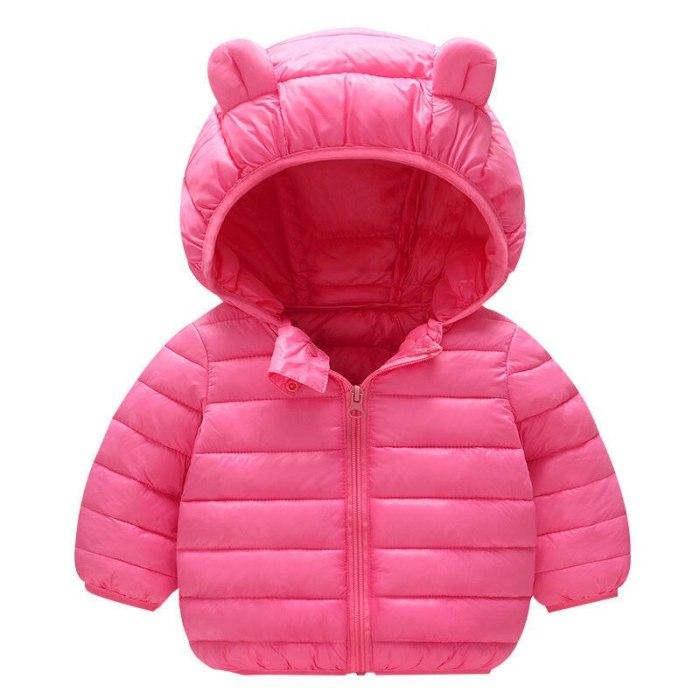 Babies Down Jacket Coat Baby Girls Boys Parka Kids Jacket Hood Winter Children Jacket Spring Fall Toddler Outerwear