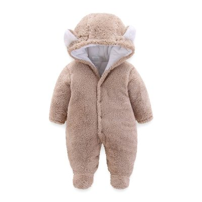 Newborn Baby Clothes Boy Romper Winter Warm Jumpsuit Baby Boy Clothes Infant Crawlers for Kids