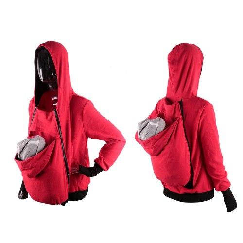 Ergonomic Baby Carrier Jacket Kangaroo Hoodie Manduca Maternity Outerwear Coat Cover Cotton Winter Sweatshirt Hooded Newborn