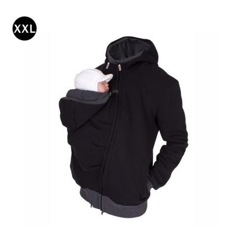 Dad mommy Winter Kangaroo Cotton Baby Carrier jackets Maternity clothes Dad Coat Hoodies Wearing Carry Infant  clothes