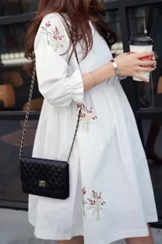 2020 Loose Summer Maternity Dresses Cotton Blouses Shirts Pregnant Dress Pregnancy Dress Maternity Clothes