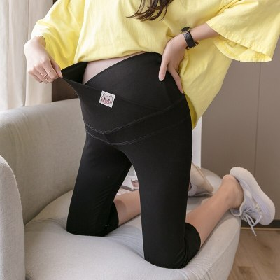 Pregnant Woman Belly Pants Leggings Pants Maternity Clothes  Pregnancy Clothes Large Size Bottom