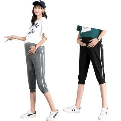 Pregnant Women's Trousers Leggings Casual Pants Home Clothes For Women Maternity Pants