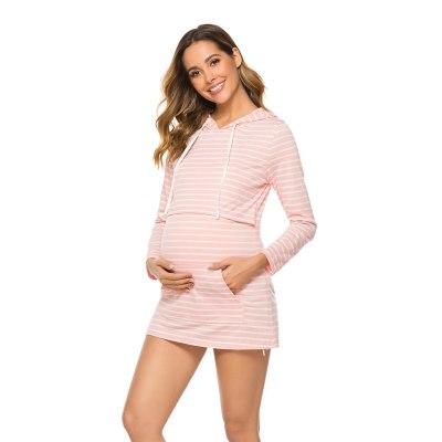 Breastfeeding Maternity Hoodies Nursing Pregnancy Sweatshirts Clothes for Pregnant Women