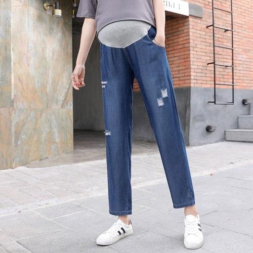Pregnant Women Wear Before Birth Adjustable Waist Pants