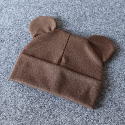 Baby Hat With Ears Cotton Warm Newborn Accessories Baby Girl Boy Autumn Winter Hat For Kids Infant Toddler Beanie Cap Girls Hat