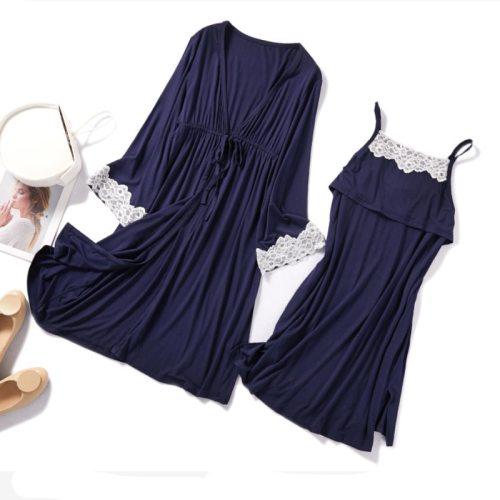 2Pcs/Set Pregnancy Maternity Pajamas Nursing Sleepwear Pajamas suit for Pregnant Breastfeeding Nightgown Maternity Nursing Dress