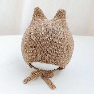 Winter Knitted Warm Baby Hat Cute Infant Baby Boy Girl Cap Ear Protection Hats Kids Children Beanie Bonnet Enfant