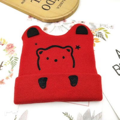 Cute Cat Bear Baby Hat Newborn Photography Props Beanies Winter Hat