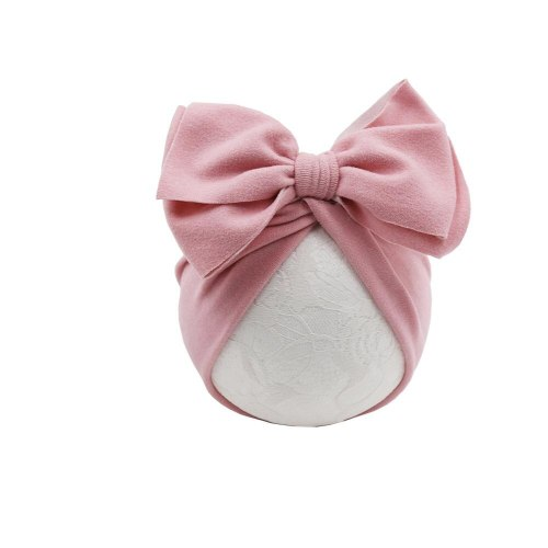 Cotton Baby Hat   Infant Baby Cap Bow Knot Newborn Photography