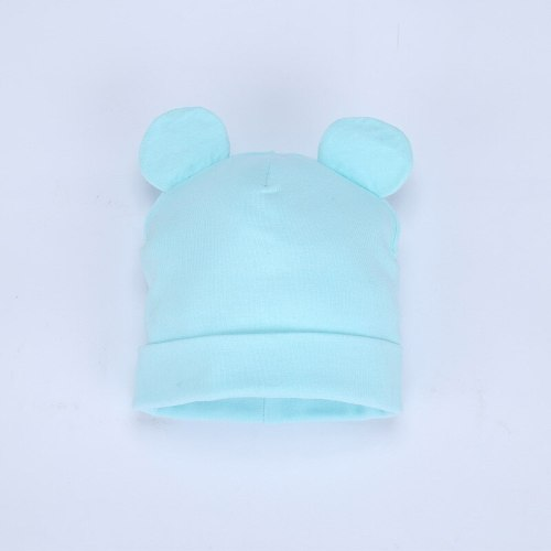 Autumn Winter New Baby Hat Boy Girl Beanies Fashion Ears Bonnet Infant Hats Toddler Kids Outdoor Warm Knitted Beanie Cap