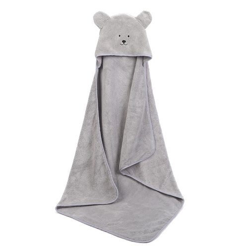 Baby Poncho Bath Towel Infant Bathrobes Velvet 90*90cm Fleece Hood Kids Beach Towels Newborn Baby Hooded Towel Babies Blankets