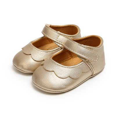 2020 Baby Shoes Infant Newborn Baby Girl Princess Non-Slip Lace Flower Baby Shoes Solid First Walkers