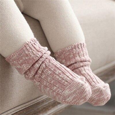 0-24 Months Baby Socks Lovely Soft Newborn Toddler Infant Kids Girls Boys Non Slip Socks Fashion