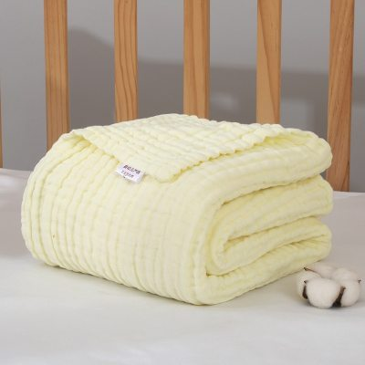 Baby Blankets Newborn Blanket Swaddle Blanket Baby Blanket Gauze Muslin Swaddle Cotton Fabric 6 Layer