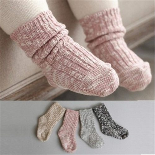 0-24 Months Baby Socks Lovely Soft Newborn Toddler Infant Kids Girls Boys Non Slip Socks Fashion