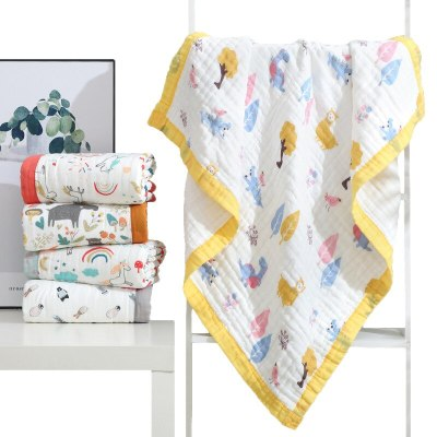 Baby Muslin 6 Layers 110*110 120*150 Blanket for Newborn Baby sleeping blanket breathable infant kids soft cotton baby blankets