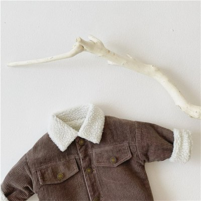 Kids Winter Lamb Wool  Jacket And Coat Kids Outerwear  Baby Girls Jacket Coat