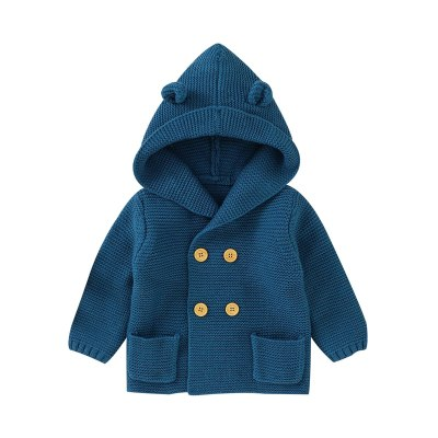 2020 Kids Clothes Boys Coat Clothing Hooded Button Windbreaker Baby Fashion Print Coat