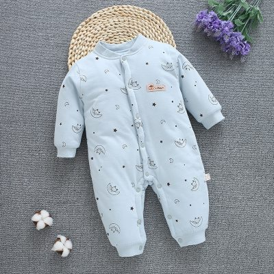 Newborn Winter Snowsuit Baby Boy Thick Cotton Warm Jumpsuit Babies Cute Hooded Romper Overall Girl Clothing Toddler Coat Clothes