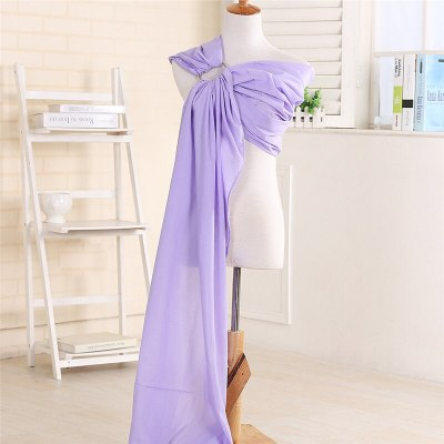 Plus Sizes Baby Carrier Sling For Newborns Soft Infant Wrap Breastfeed Comfortable Nursing Cover Ring Sling Widen Breathable