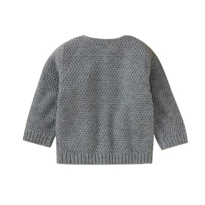 Newborn Baby Coat  Cardigan Autumn Spring Knitted Sweater Children Long Sleeves Sweater