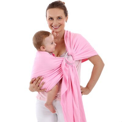 Infant Baby Carrier Kid Fashionable Baby Sling Wrap Cotton Soft Breathable  Newborn Back Scarf