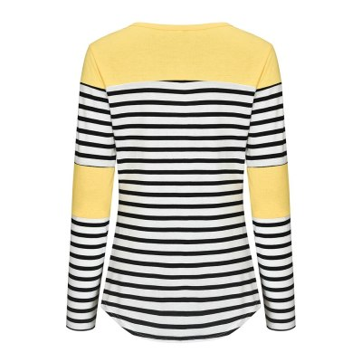 Pregnancy Maternity Clothes Women Maternity Long Sleeve Striped Nursing Tops T-shirt For Breastfeeding Tops for pregnant women