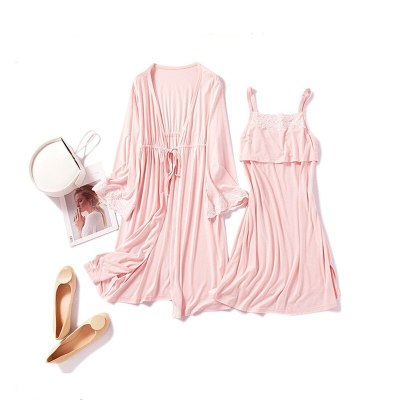 New Cotton Maternity Pajamas Sleepwear Nursing Pregnant Pajamas Breastfeeding Nightgown Maternity Nursing Dress 2 piece Set