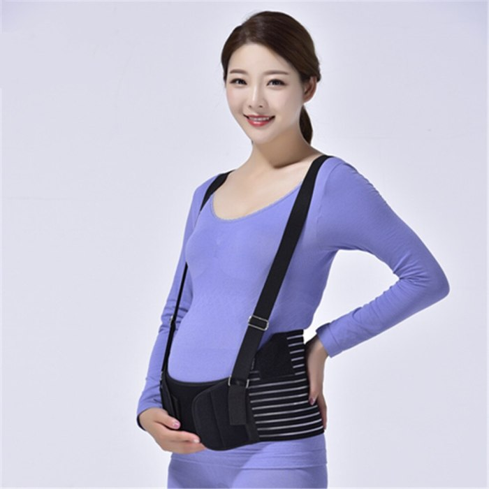 Maternity Cotton Breathable Pregnant Women Abdomen Support Belly Belt