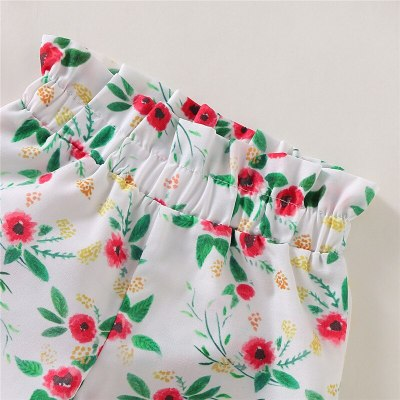 Toddler Infant Newborn Baby Girl Kid Autumn Long Sleeve Bodysuit Floral Pants Headband 3Pcs Clothes Set Outfit Costume Clothing