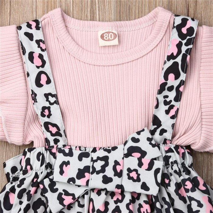 Cute Newborn Infant Toddler Baby Girl Summer Clothes Ruffle Short Sleeve O-Neck Top Bib Shorts Set 2Pcs Outfit Costume Clothing