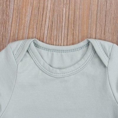 Summer Infants Baby Girl Romper Shorts 3pcs Suit Watermelon Printed O-Neck Long Sleeve Romper+Casual Shorts+Headband